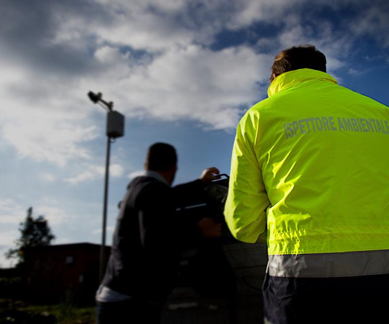 Servizio di controllo e prevenzione sul territorio, ispettori ambientali e fototrappole