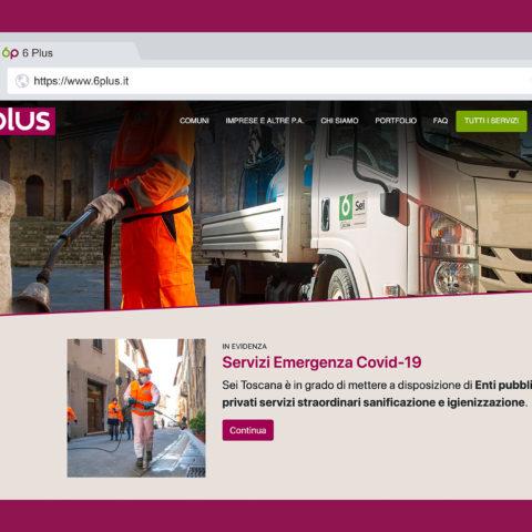 Ecco 6Plus: il nuovo sito internet di Sei Toscana per tutti i servizi opzionali a disposizione dei Comuni e delle Imprese del territorio